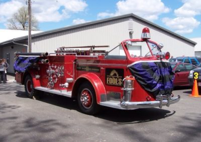 Engine 1 with Bunting